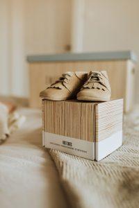 Bewaardoos herinneringen baby en peuter - eerste schoentjes