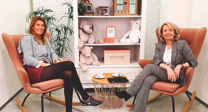 Podcast aflevering ondernemen en moederschap: Hélène Fransen en Sonia Pypaert